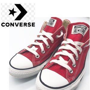 Converse Red Classic Sneaker W8 M6